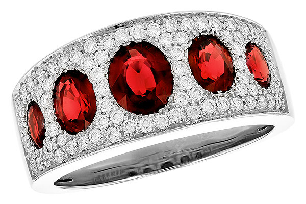 C273-12840: LDS WED RG 1.60 TW RUBY 2.00 TGW