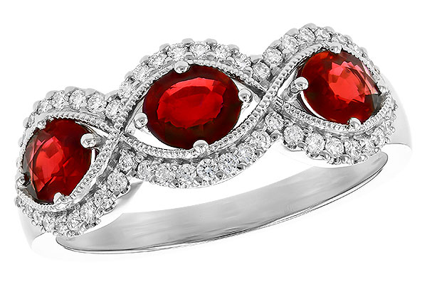 E273-12876: LDS WED RG 1.10 TW RUBY 1.35 TGW