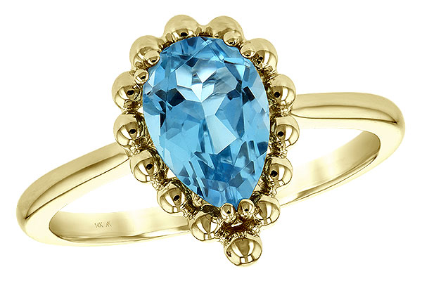 D189-49258: LDS RG BLUE TOPAZ 1.55 CT